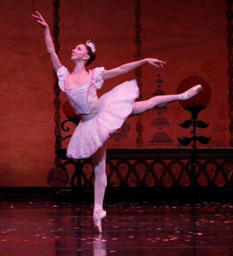 While on stage, ballet dancers must stay focused and balanced, even when performing numerous consecutive pirouettes. Courtesy of Herbert Migdoll.