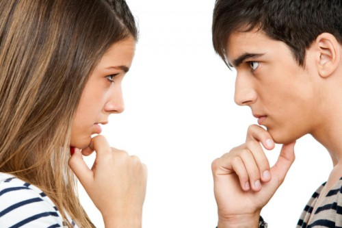 Eye contact — friendly or threatening? Courtesy of Fotolia.