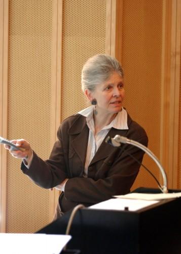 Professor Joan A. Steitz, recipient of the 2013 Grande Médaille. Courtesy of Joan Steitz.
