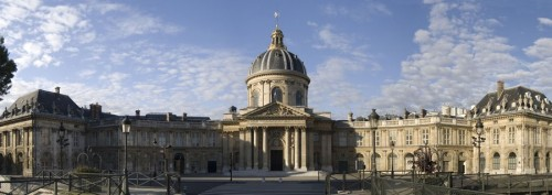 The Institut de France, located in Paris, is where the French Academy of Sciences is housed and where Steitz will receive her award. Courtesy of the Institut de France.