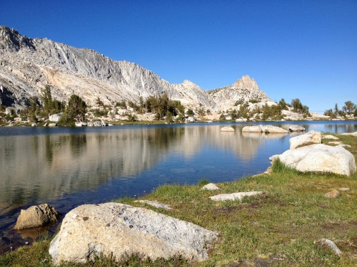 Upper Young Lake is one of Yosemite's many High Sierra lakes. Courtesy of Yenyen Chan.