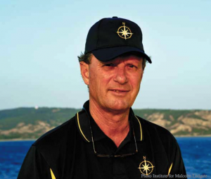 Robert Ballard, the founder of the Institute for Exploration in Mystic, Connecticut and the author of The Great Darkness: A Personal History of Deep-Sea Exploration. Photo courtesy of Sea Voices.