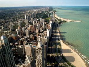 The city of Chicago, Illinois, from where data for this study was drawn. Picture courtesy of Howard University.