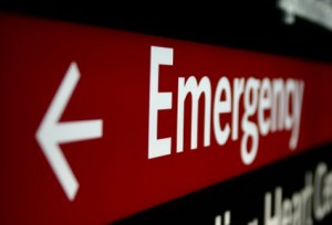 A study published in Science found that insurance coverage raises the number of emergency room visits by 0.41 visits per person. Image courtesy of The Daily Chapter.