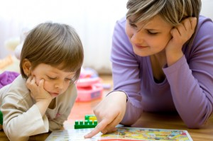 Child therapy can often be effective in teaching autistic children proper social interaction, but drug therapy can directly address the physiological bases behind the disease. Image courtesy of MyChildWithoutLimits.org.