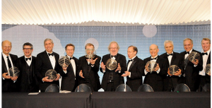 Richard Lifton (third from left) with other Breakthrough Winners. Image courtesy of launch.co.