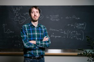 Jeremy England, a 31-year-old professor of physics at MIT, claims energy dissipation is the foundation of all physical processes in both living and nonliving systems. Image courtesy of Quanta Magazine.