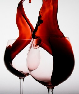 Bacteria found in wine may benefit one's health. Image courtesy of Wikicommons.