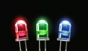 Red and green LEDs were developed in the 1950s and 1960s. However it was not until the 1990s that blue LEDs became commercially available.
