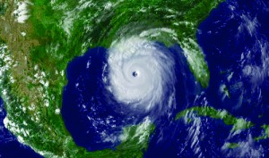 NOAA's advanced technology can receive updated, accurate pictures of developing weather, like the storm system pictured here. Image courtesy of NOAA.