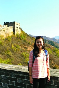 Tarleton's explorations in China included visits to the Forbidden City, the Great Wall, and Beidaihe.