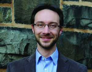 Nicholas Ouellette, Associate Professor of Mechanical Engineering at Yale. Image Courtesy of Professor Ouellette