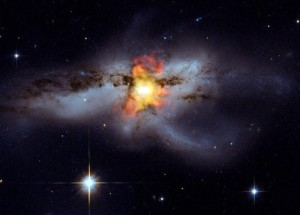 """An image of a black hole from NASA, which is featured in the episode """"The Riddle of Black Holes."""" Image Courtesy of Science Channel."""