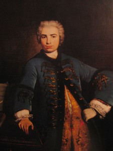Farinelli was an 18th century castrato opera singer, considered one of the greatest opera singers of all time. Without the hormone testosterone, Farinelli preserved his soprano voice, even after the age when he should have hit puberty. Image courtesy of galleryhip.com.