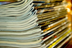 For the Yale study, researchers analyzed magazines, newspapers, and fiction and nonfiction books published within a range of 200 years in order to determine trends in age stereotypes. Image courtesy of Pixabay.