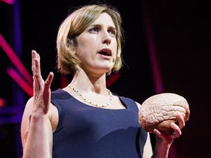 Blakemore gave a TED talk on her findings. Her research probed a question that affects everyone, from infants to neuroscientists — why can't we tickle ourselves? Photo courtesy of TED.