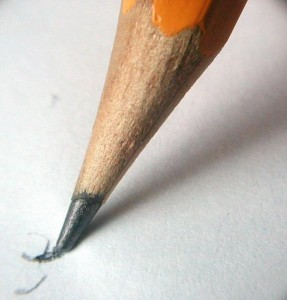 Graphene can be engineered into something as soft as pencil graphite. Image courtesy of Johnny Magnusson.