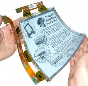 Ultra-thin graphene layers can be used to create membranes for flexible electronics such as LCDs and touch screens. Image courtesy of Wikimedia Commons.