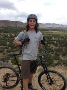 During his summer in NIST in Boulder, CO, Meyer found time to spend outdoors. Image courtesy of Greg Meyer.