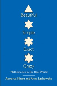 Beautiful, Simple, Exact, Crazy was published in 2015 and is now available from Yale University Press. Image courtesy of Yale University Press.
