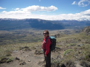 Jan 2015, at Reserva Nacional Lago Cochrane in the Chilean Patagonian Andes, during the field component of G&G 370 Regional Perspectives on Global Geoscience. Image courtesy of Samantha Lichtin