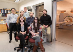 The research team was able to determine the identity of individuals with up to 99 percent accuracy by analyzing fMRI scans. Photo credits: Jerry Domian