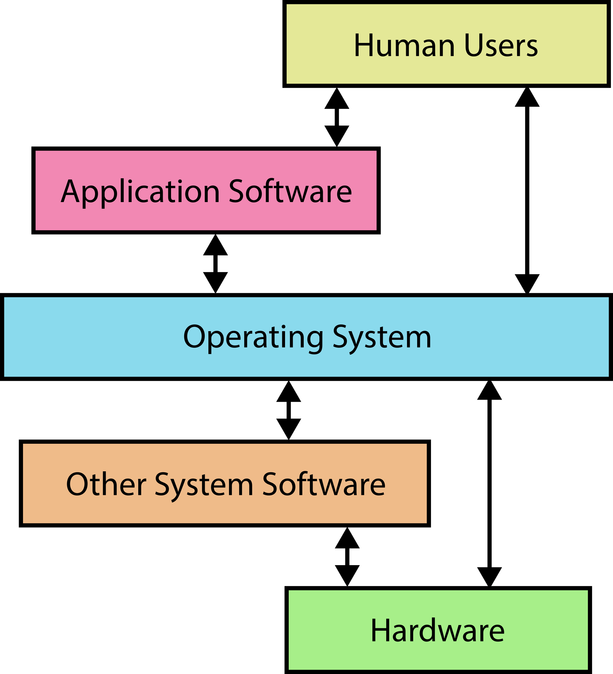 how the computer hardware and software Introduction to computers: hardware and software what is hardware • a computer is made up of hardware • hardware is the physical components of a computer system.