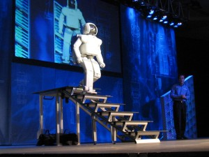 As robots become more advanced and capable of a growing number of tasks, there is increased concern that they will leave more workers destitute. The good news is that we have the ability to prevent this from happening. Image courtesy of Wikimedia Commons