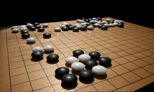 Recently, Google's AlphaGo accomplished something previously thought impossible: It won a best-of-five match of Go against the world's best Go player. Image courtesy of Wikimedia Commons