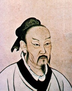 """As a philosopher, Micius prized the value of genuine self-reflection, as opposed to mindlessly following orders. At the same time, he made great advances in mechanics and optics. Just as Western satellites have been named after scientific giants like Galileo and Hubble, the satellite """"Micius"""" honors the ancient Chinese tradition of achieving groundbreaking innovation through scientific research. Image courtesy of Wikimedia."""