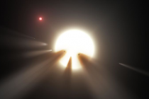 Shedding Light on a Bizarre Star