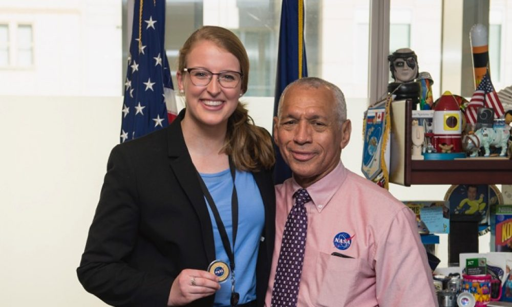 Undergraduate Profile Katie Melbourne (SY '19): From Yale to NASA