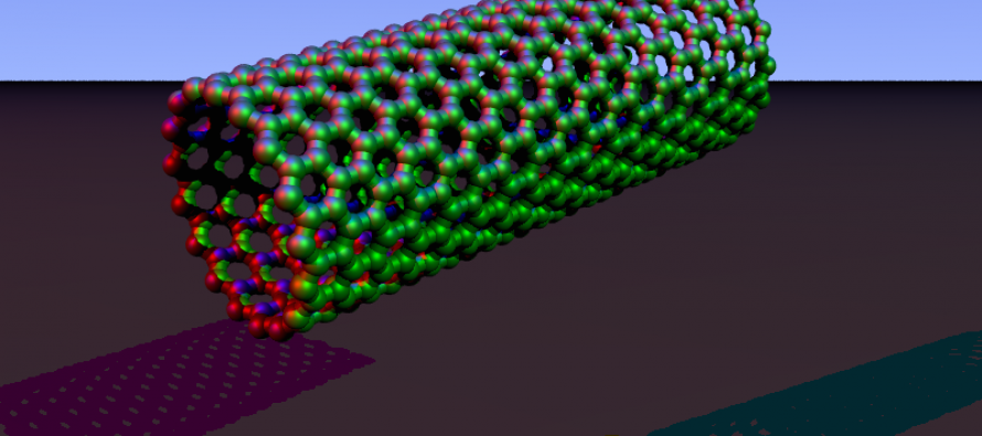 Nanotubes Change the Shape of Water