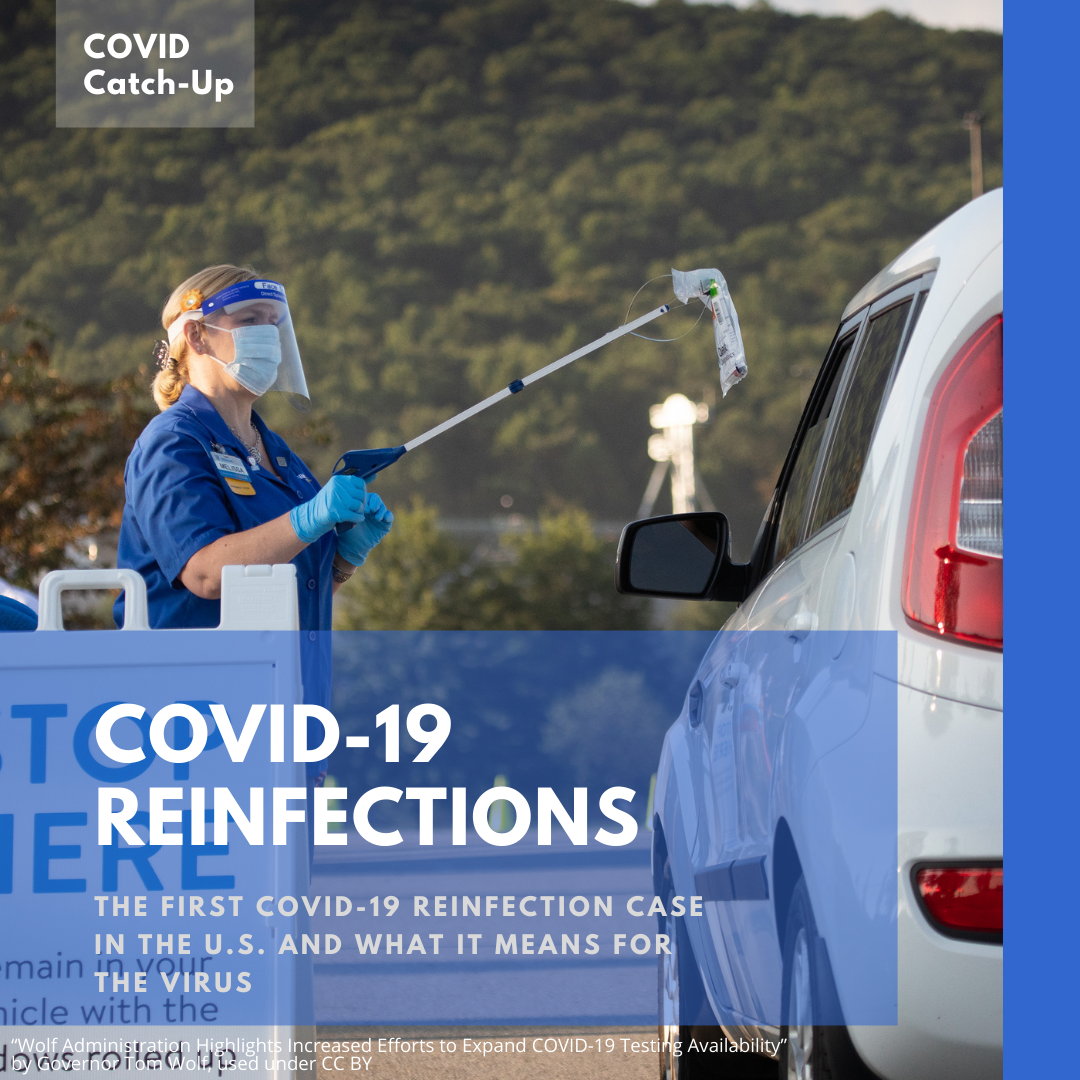 10/18 News Flash 4: What reinfections mean for COVID-19