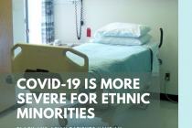 10/18 News Flash 10: COVID-19 Is More Severe in People of Minority Ethnic Backgrounds