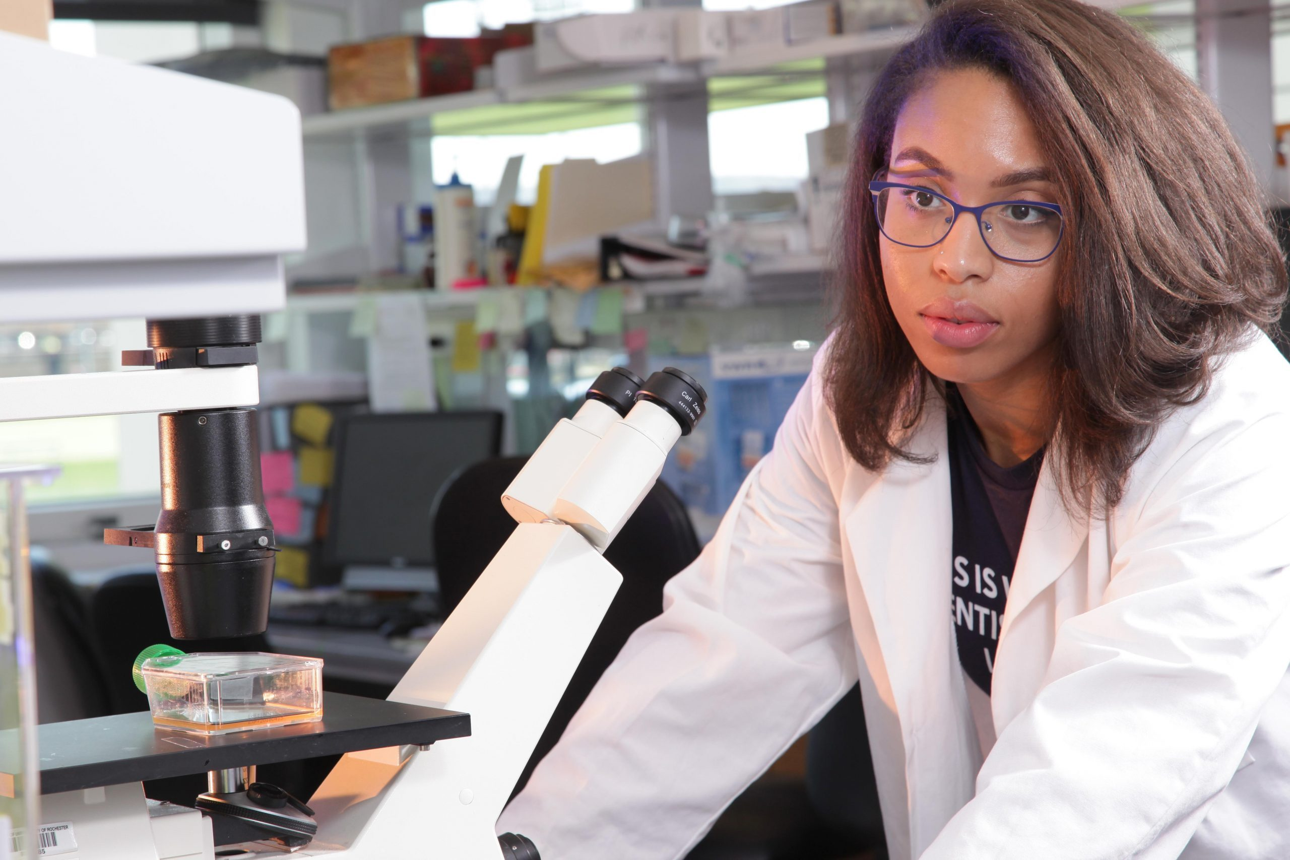 """This is What a Scientist Looks Like"": How Korie Grayson balances her STEM research with her interests outside of STEM"