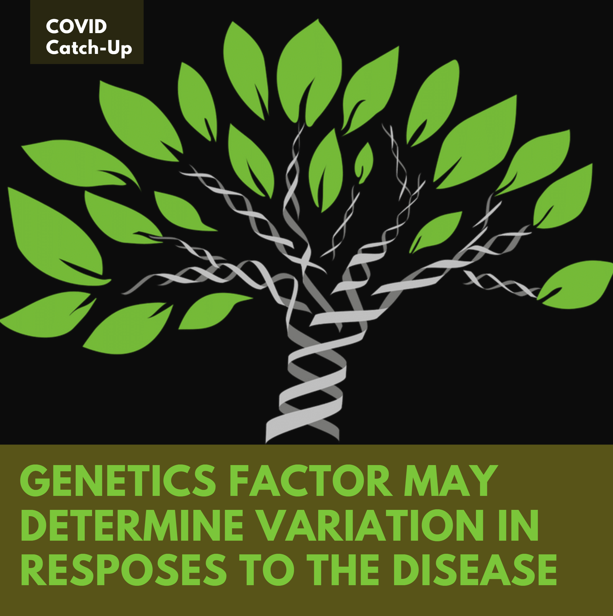 11/1 News Flash 5: Why Does COVID-19 Affect Us Differently? The Answer May Lie In Our Genes