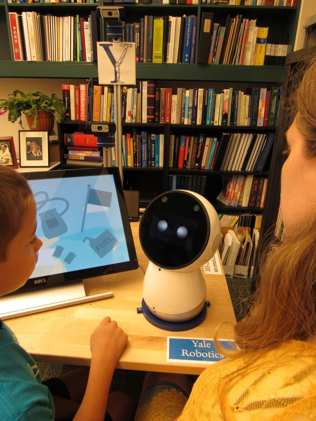 Robotic Role Models Show Therapeutic Promise
