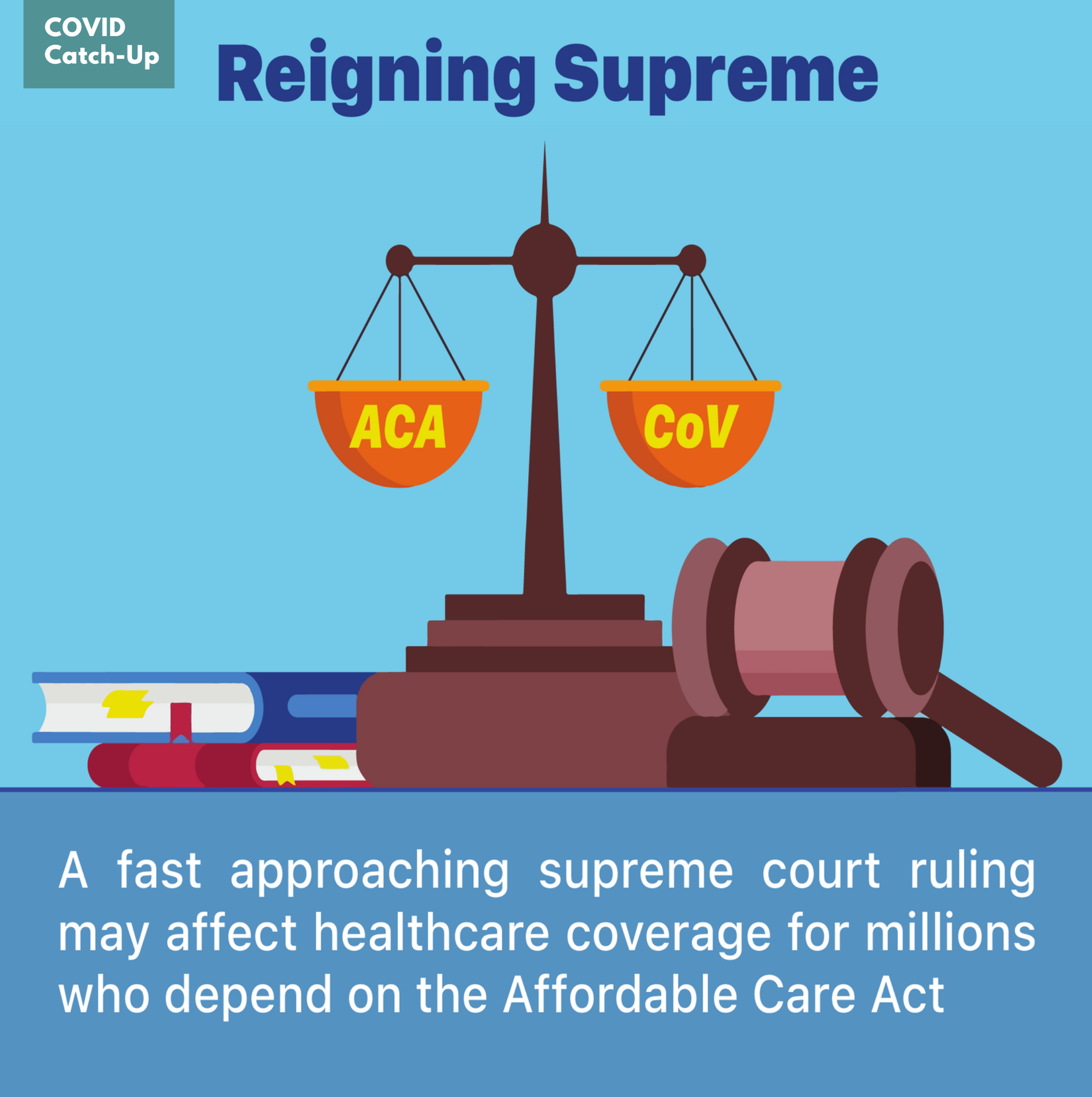 11/1 News Flash 6: Upcoming Supreme Court Ruling Could Jeopardize Health Insurance for People with COVID