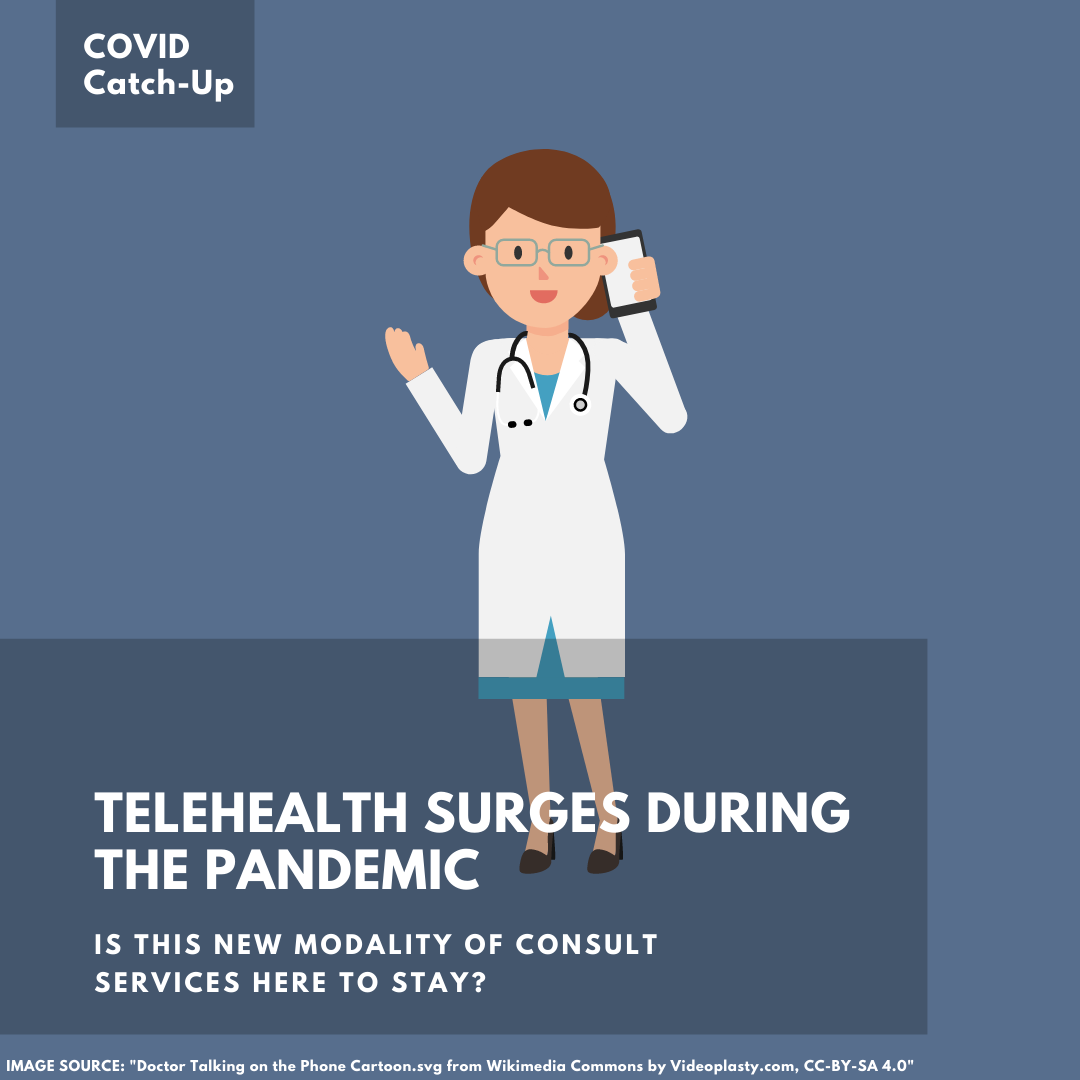 10/18 News Flash 2: Telephone Visits Surge During the Pandemic, but Will They Last?